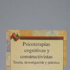 Libros de segunda mano: PSICOTERAPIAS COGNITIVAS Y CONSTRUCTIVISTAS : TEORÍA, INVESTIGACIÓN Y PRÁCTICA. MICHAEL J. MAHONEY. Lote 90341620