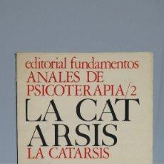 Libros de segunda mano: LA CATARSIS. VV.AA. Lote 90553650