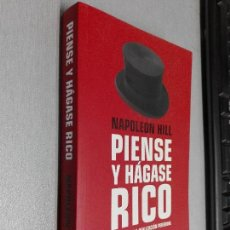 Libros de segunda mano: PIENSE Y HÁGASE RICO / NAPOLEON HILL / DEBOLSILLO CLAVE 2010. Lote 97908559