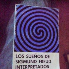 Libros de segunda mano: LOS SUEÑOS DE SIGMUND FREUD INTERPRETADOS - ERIK H. ERIKSON ERIK H. ERIKSON. Lote 91523670