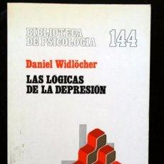 Libros de segunda mano: LAS LOGICAS DE LA DEPRESION - DANIEL WIDLÖCHER. Lote 91633850
