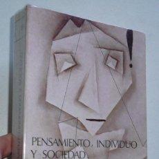 Libros de segunda mano: PENSAMIENTO, INDIVIDUO, SOCIEDAD. COGNICIÓN Y REPRESENTACIÓN SOCIAL - DARÍO PÁEZ (FUNDAMENTOS, 1987). Lote 68964717