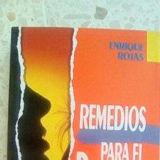 Libros de segunda mano: REMEDIOS PARA EL DESAMOR.-ENRIQUE ROJAS.. Lote 92809600