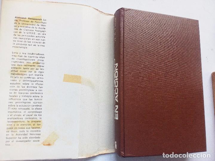Libros de segunda mano: EL CEREBRO EN ACCION ALEKSANDER ROMANOVICH LURIA, ED. FONTANELLA 1974 Nº 21. CONDUCTA HUMANA - Foto 2 - 119863495