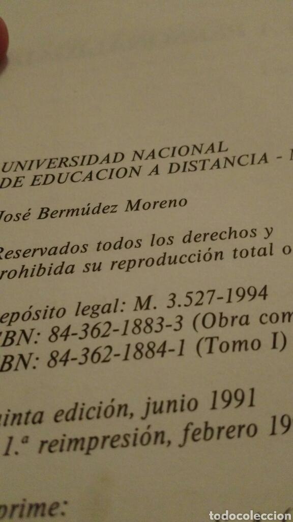Libros de segunda mano: LIBRO: PSICOLOGÍA DE LA PERSONALIDAD - José Bermúdez Moreno - 1994 - Foto 2 - 115134975