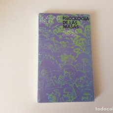 Libros de segunda mano: PSICOLOGIA DE LAS MASAS / SIGMUND FREUD -ED. ALIANZA. Lote 95757967