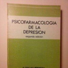 Libros de segunda mano: PSICOFARMACOLOGÍA DE LA DEPRESIÓN. R. COLLAUT MENDIGUTIA - J. LÓPEZ DE LERMA PEÑASCO - J. CAMJALLI.. Lote 95939627