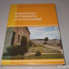 Libri di seconda mano: EXPERIMENTOS DE PSIQUIATRÍA EN LA COMUNIDAD, INFORME SIMPÓSIUM PAZO MARIÑÁN 13-15/09/1979. Lote 96183591