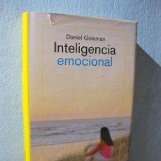 Libros de segunda mano: INTELIGENCIA EMOCIONAL (DANIEL GOLEMAN) PSICOLOGÍA, DESARROLLO PERSONAL. Lote 98617606
