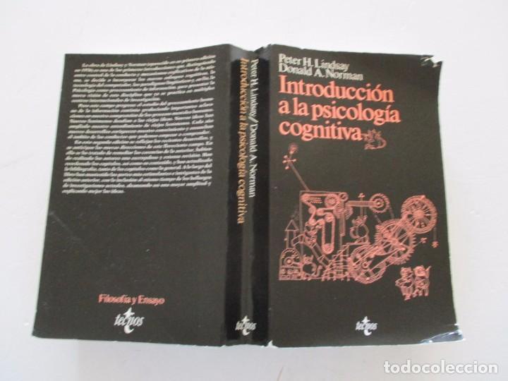 PETER H. LINDSAY, DONALD A. NORMAN. INTRODUCCIÓN A LA PSICOLOGÍA COGNITIVA. RMT82780. (Libros de Segunda Mano - Pensamiento - Psicología)