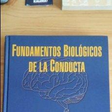 Libros de segunda mano: FUNDAMENTOS BIOLOGICOS DE LA CONDUCTA, VOLUMENES 1 Y 2. ÁGUEDA DEL ABRIL ALONSO. SANZ YTORRES. Lote 97054679