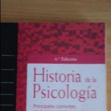 Libros de segunda mano: HISTORIA DE LA PSICOLOGÍA. THOMAS HARDY LEAHEY. EDITORIAL PRENTICE HALL. Lote 97055135