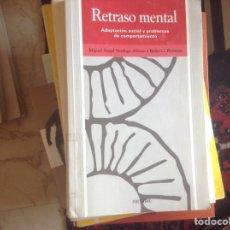 Libros de segunda mano: RETRASO MENTAL. MIGUEL ÁNGEL VERDUGO. Lote 97200950