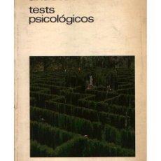 Libros de segunda mano: TEST PSICOLÓGICOS. Lote 97333523