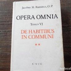 Libros de segunda mano: OPERA OMNIA. Lote 97851407