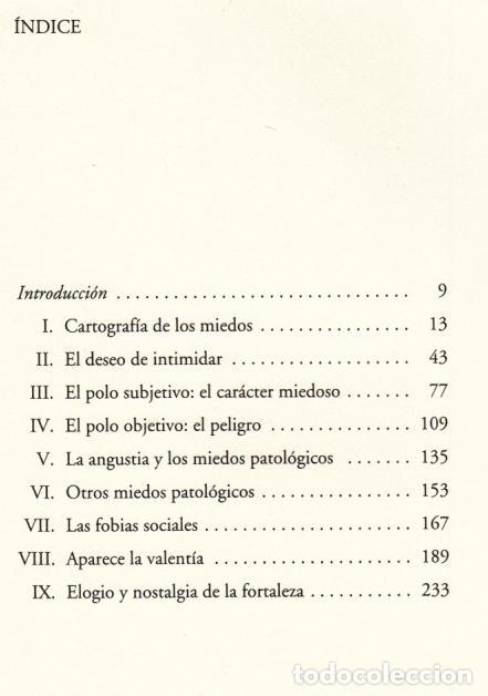 Libros de segunda mano: JOSÉ ANTONIO MARINA ANATOMÍA DEL MIEDO UN TRATADO SOBRE LA VALENTÍA ANAGRAMA 2006 1ª EDICIÓN RECORTE - Foto 5 - 97873967