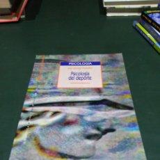 Libros de segunda mano: PSICOLOGÍA DEL DEPORTE. DE JOSÉ LORENZO GONZÁLEZ. Lote 98980799