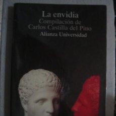 Libros de segunda mano: LA ENVIDIA. COMPILACIÓN DE CARLOS CASTILLA DEL PINO. ALIANZA EDITORIAL, 1994. Lote 100431547