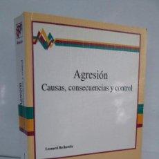 Libros de segunda mano: AGRESION. CAUSAS, CONSECUENCIAS Y CONTROL. LEONARD BERKOWITZ. 1996. VER FOTOGRAFIAS. Lote 101785683