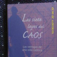 Libros de segunda mano: LIBRO Nº 885 LAS SIETE LEYES DEL CAOS DE JOHN BRIGGS Y F. DAVID PEAT. Lote 101933791