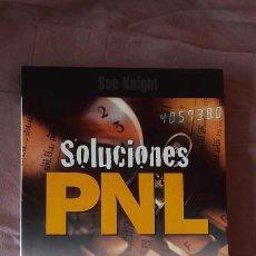 Livros em segunda mão: SOLUCIONES PNL. MODELOS EMPRESARIALES. MODELOS PERSONALES - SUE KNIGHT. Lote 102212894