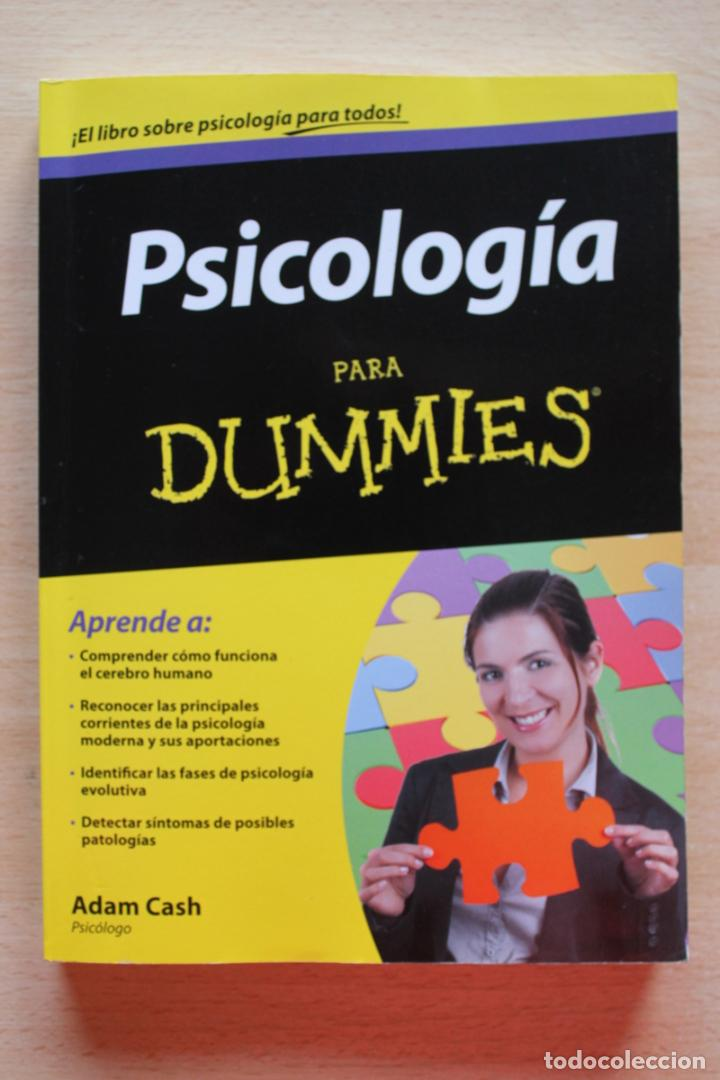 A.CASH - PSICOLOGÍA PARA DUMMIES (Libros de Segunda Mano - Pensamiento - Psicología)
