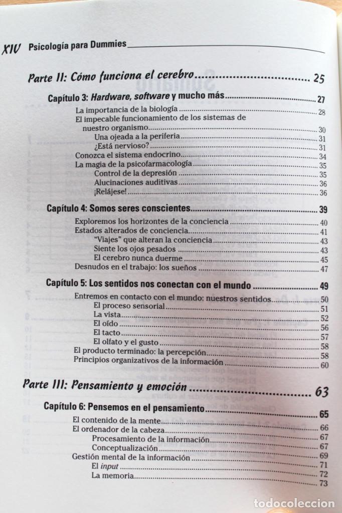 Libros de segunda mano: A.Cash - Psicología para dummies - Foto 4 - 102399435