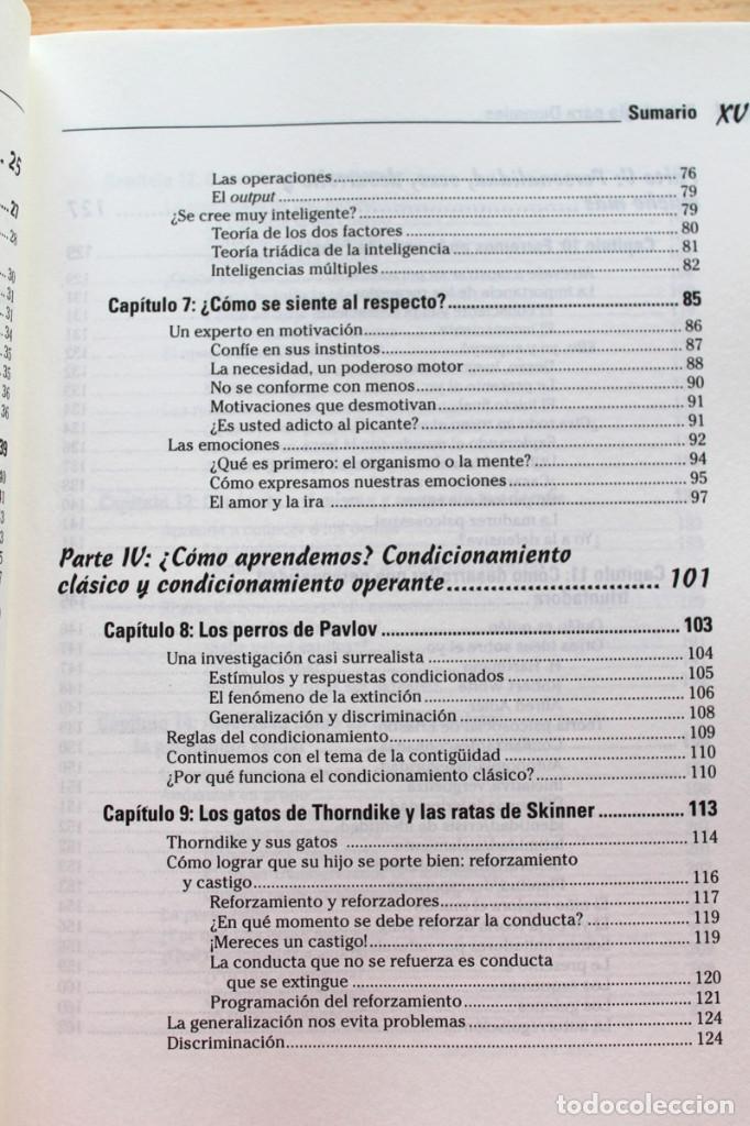 Libros de segunda mano: A.Cash - Psicología para dummies - Foto 5 - 102399435