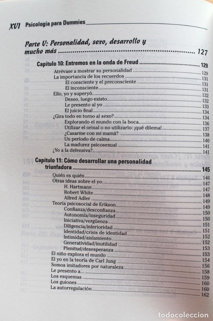 Libros de segunda mano: A.Cash - Psicología para dummies - Foto 6 - 102399435