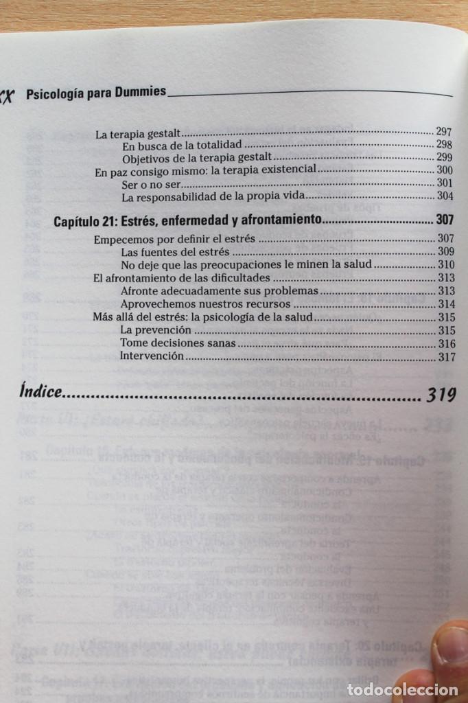 Libros de segunda mano: A.Cash - Psicología para dummies - Foto 10 - 102399435