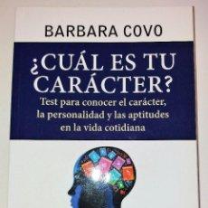 Libros de segunda mano: BARBARA COVO - ¿CUÁL ES TU CARÁCTER?. Lote 102686943