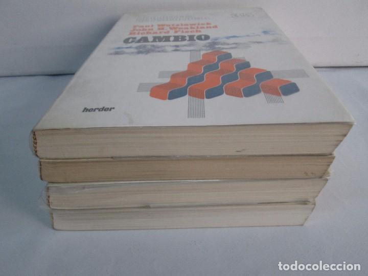 Libros de segunda mano: PAUL WATZLAWICK. BIBLIOTECA DE PSICOLOGIA. TOMO 35,69,100,174. EDITORIAL HERDER. VER FOTOGRAFIAS - Foto 3 - 103817435