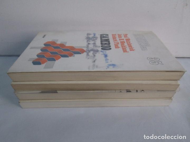 Libros de segunda mano: PAUL WATZLAWICK. BIBLIOTECA DE PSICOLOGIA. TOMO 35,69,100,174. EDITORIAL HERDER. VER FOTOGRAFIAS - Foto 4 - 103817435