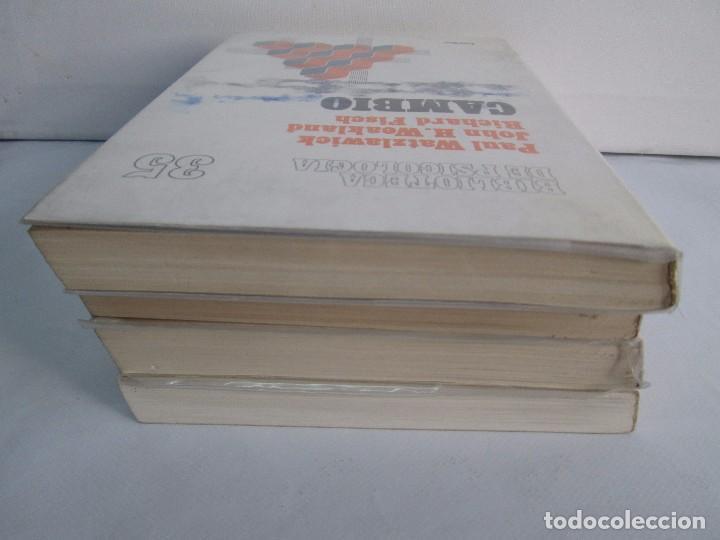 Libros de segunda mano: PAUL WATZLAWICK. BIBLIOTECA DE PSICOLOGIA. TOMO 35,69,100,174. EDITORIAL HERDER. VER FOTOGRAFIAS - Foto 5 - 103817435