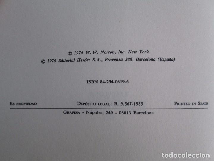 Libros de segunda mano: PAUL WATZLAWICK. BIBLIOTECA DE PSICOLOGIA. TOMO 35,69,100,174. EDITORIAL HERDER. VER FOTOGRAFIAS - Foto 9 - 103817435