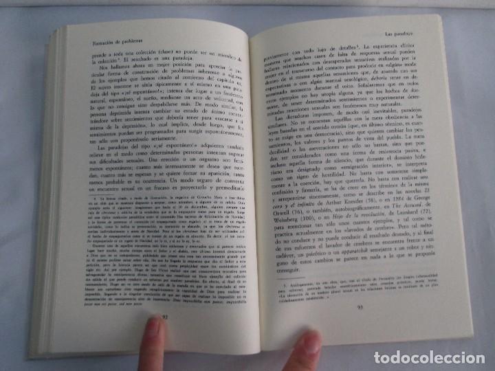 Libros de segunda mano: PAUL WATZLAWICK. BIBLIOTECA DE PSICOLOGIA. TOMO 35,69,100,174. EDITORIAL HERDER. VER FOTOGRAFIAS - Foto 13 - 103817435