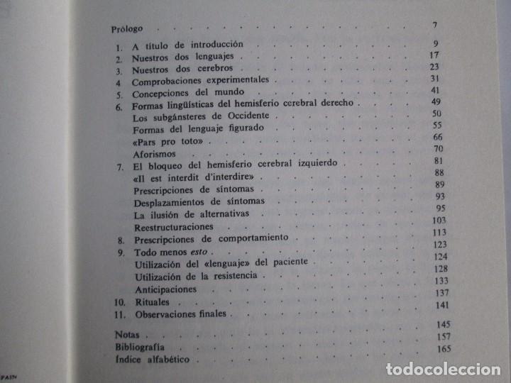 Libros de segunda mano: PAUL WATZLAWICK. BIBLIOTECA DE PSICOLOGIA. TOMO 35,69,100,174. EDITORIAL HERDER. VER FOTOGRAFIAS - Foto 19 - 103817435
