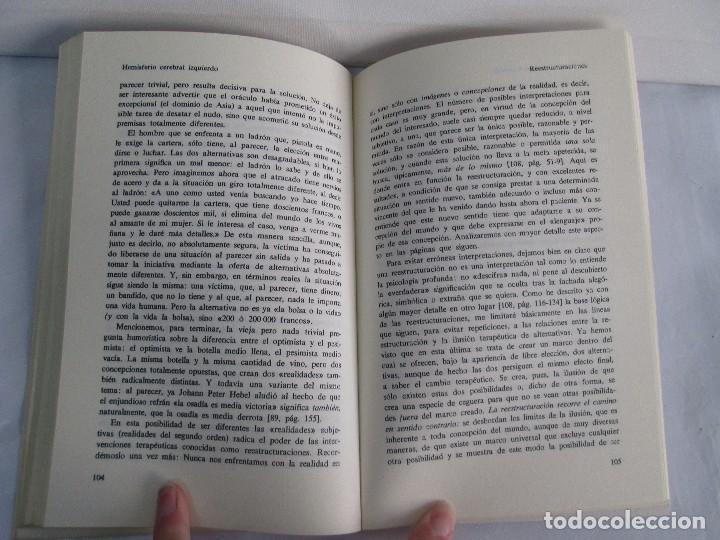 Libros de segunda mano: PAUL WATZLAWICK. BIBLIOTECA DE PSICOLOGIA. TOMO 35,69,100,174. EDITORIAL HERDER. VER FOTOGRAFIAS - Foto 22 - 103817435