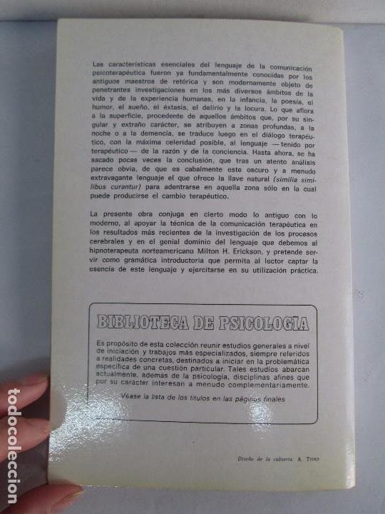 Libros de segunda mano: PAUL WATZLAWICK. BIBLIOTECA DE PSICOLOGIA. TOMO 35,69,100,174. EDITORIAL HERDER. VER FOTOGRAFIAS - Foto 23 - 103817435