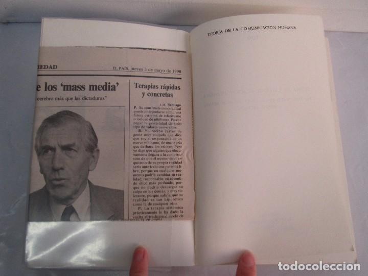 Libros de segunda mano: PAUL WATZLAWICK. BIBLIOTECA DE PSICOLOGIA. TOMO 35,69,100,174. EDITORIAL HERDER. VER FOTOGRAFIAS - Foto 25 - 103817435