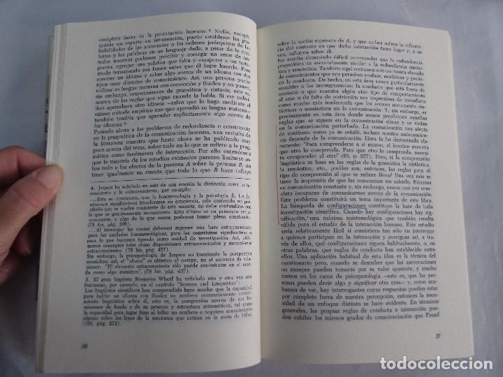 Libros de segunda mano: PAUL WATZLAWICK. BIBLIOTECA DE PSICOLOGIA. TOMO 35,69,100,174. EDITORIAL HERDER. VER FOTOGRAFIAS - Foto 30 - 103817435