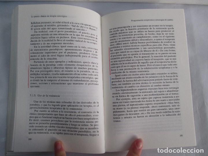 Libros de segunda mano: PAUL WATZLAWICK. BIBLIOTECA DE PSICOLOGIA. TOMO 35,69,100,174. EDITORIAL HERDER. VER FOTOGRAFIAS - Foto 43 - 103817435