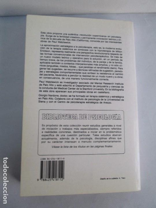 Libros de segunda mano: PAUL WATZLAWICK. BIBLIOTECA DE PSICOLOGIA. TOMO 35,69,100,174. EDITORIAL HERDER. VER FOTOGRAFIAS - Foto 45 - 103817435
