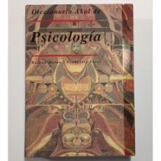 Libros de segunda mano: DICCIONARIO AKAL DE PSICOLOGÍA. Lote 104052975