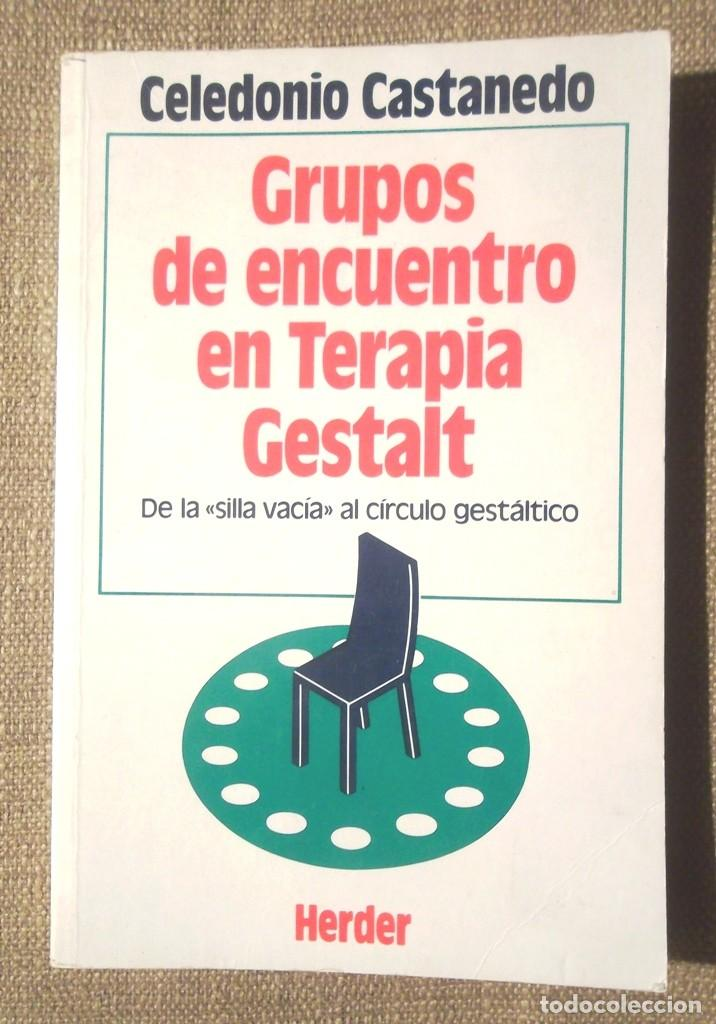GRUPOS DE ENCUENTRO EN TERAPIA GESTALT CELEDONIO CASTANEDO 1990 HERDER IMPECABLE (Libros de Segunda Mano - Pensamiento - Psicología)