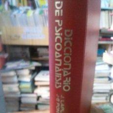 Libros de segunda mano: DICCIONARIO DE PSICOANALISIS J.LAPLANCHE. Lote 107220491