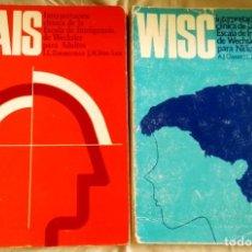 Libros de segunda mano: WAIS Y WISC - INTERPRETACIÓN CLÍNICA DE LA ESCALA DE INTELIGENCIA DE WECHSLER PARA ADULTOS Y NIÑOS. Lote 108002947