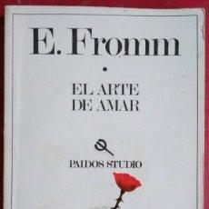 Libros de segunda mano: ERICH FROMM . EL ARTE DE AMAR. Lote 110105887