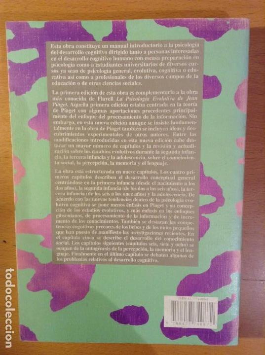 Libros de segunda mano: EL DESARROLLO COGNITIVO (NUEVA EDICION REVISADA) JOHN H. FLAVELL - Foto 2 - 110494851