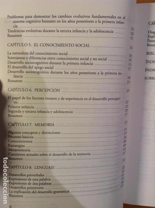 Libros de segunda mano: EL DESARROLLO COGNITIVO (NUEVA EDICION REVISADA) JOHN H. FLAVELL - Foto 5 - 110494851